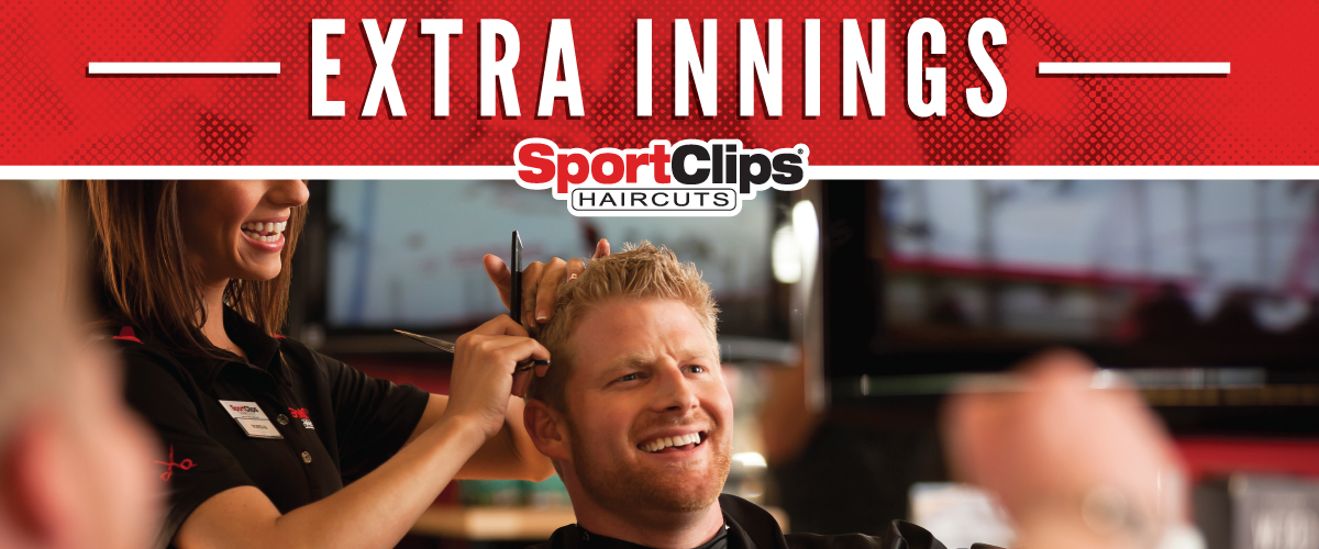 The Sport Clips Haircuts of Flanders  Extra Innings Offerings